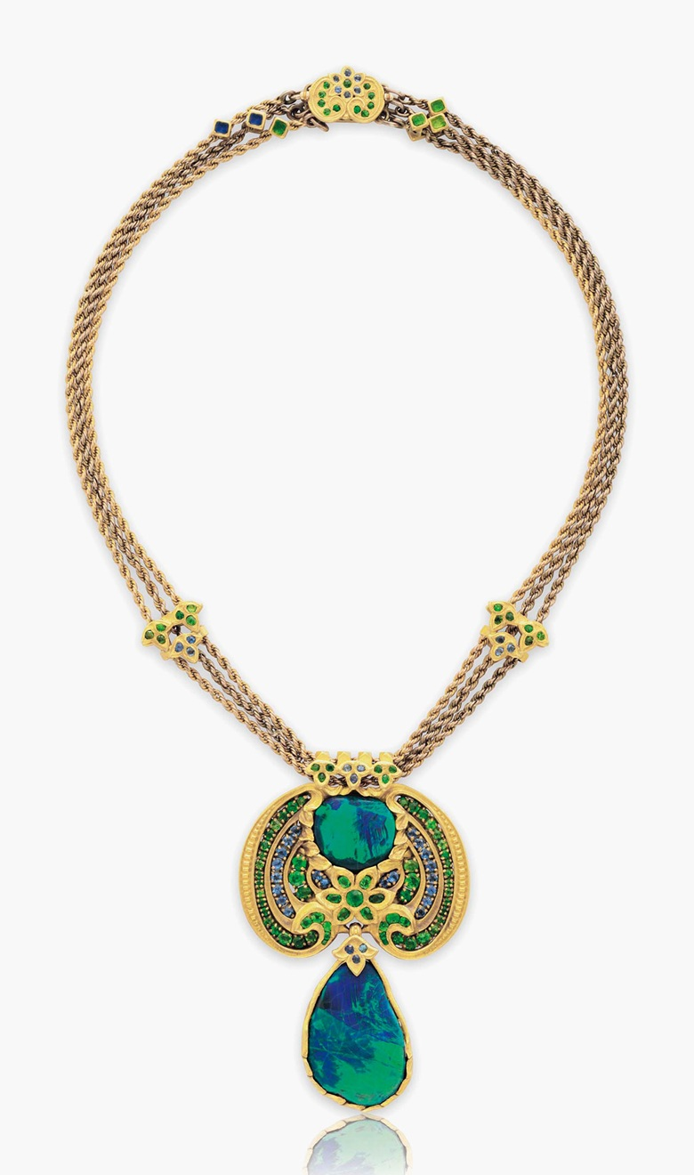 Louis Comfort Tiffany Jewelry At Christie S Auction