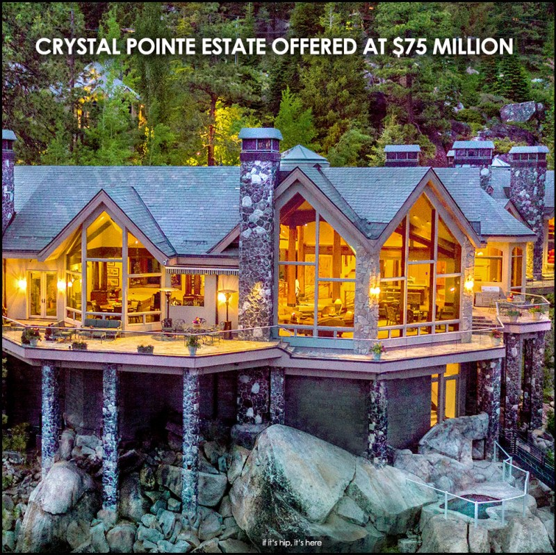 Today's Lavish Property: Crystal Pointe Estate Asking $75 Million – if it's hip, it's here