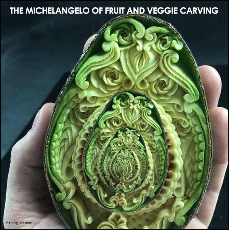 Meet daniele barresi the michelangelo of fruit and veggie