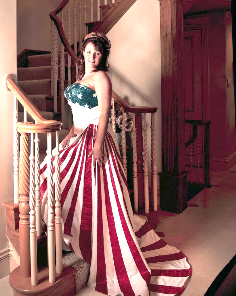 The American Flag As Formal Wear - Oh No They Didn\'t