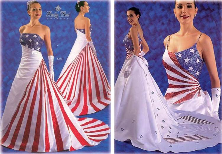 Oh No They Didnt The American Flag As Formal Wear If Its Hip