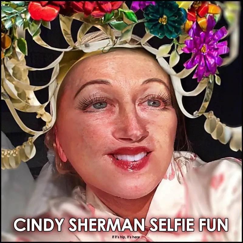 Cindy Sherman Selfie Fun On Instagram