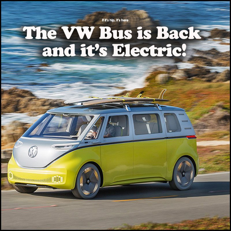 Volkswagen Brings Back The Bus As The Electric Volkswagen ID Buzz & If This Tentu0027s A Rockinu0027 Donu0027t Come A Knockinu0027. The Full Sized ...