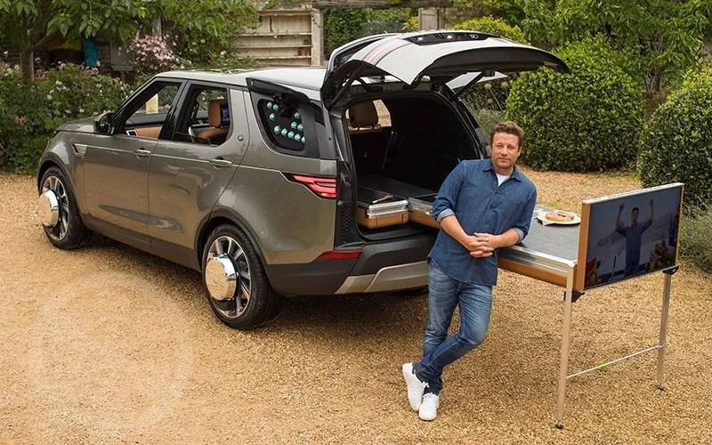 Chef Jaime Oliver's Custom Land Rover