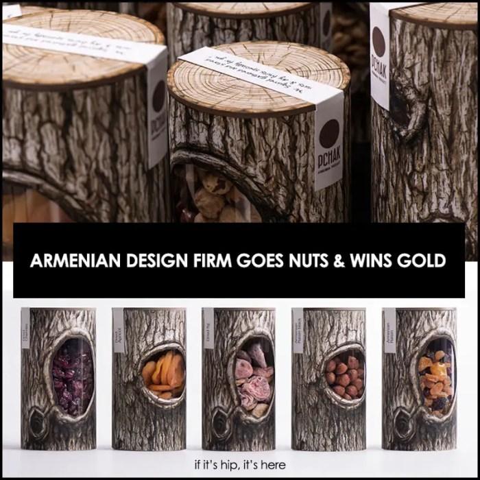 Award-winning Pchak Nut Packaging