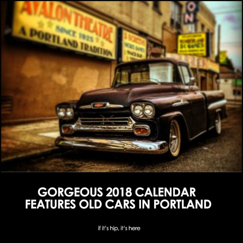 Old Cars of Portland Calendar by photographer Brian Belefant
