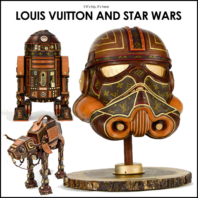 Louis Vuitton Star Wars Sculptures By Gabriel Dishaw