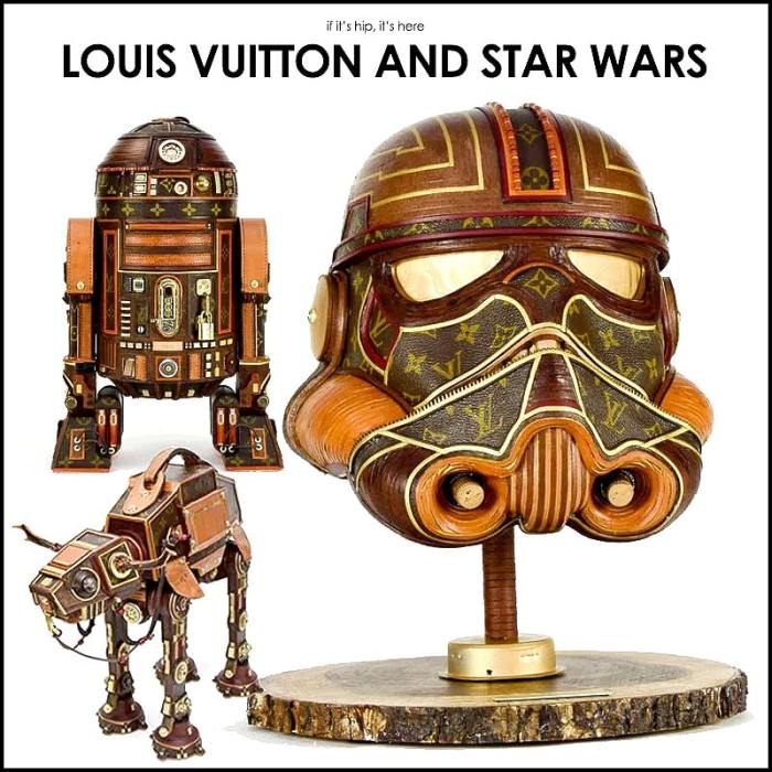 louis vuitton star wars sculptures