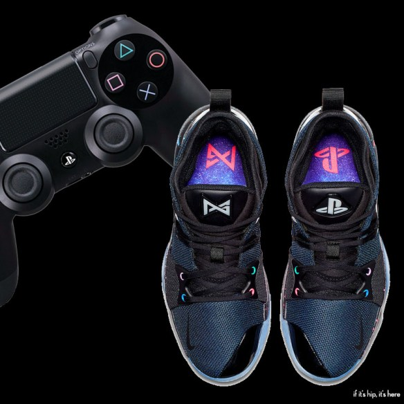 new concept 452dc 2a2ee The Paul George PlayStation Nike Sneakers: PG2 PLAYSTATION ...