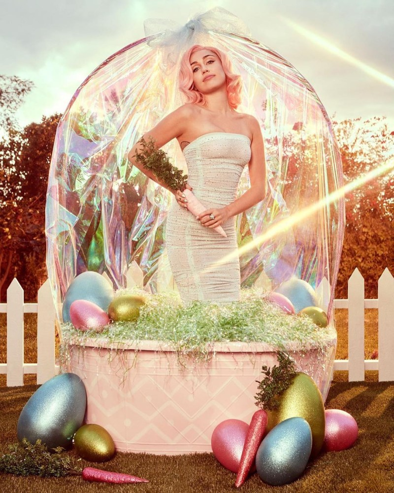 Miley Cyrus Easter Shoot