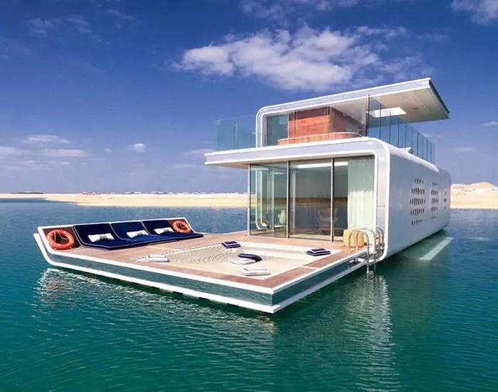 Sea Horse Villas Dubai Architecture
