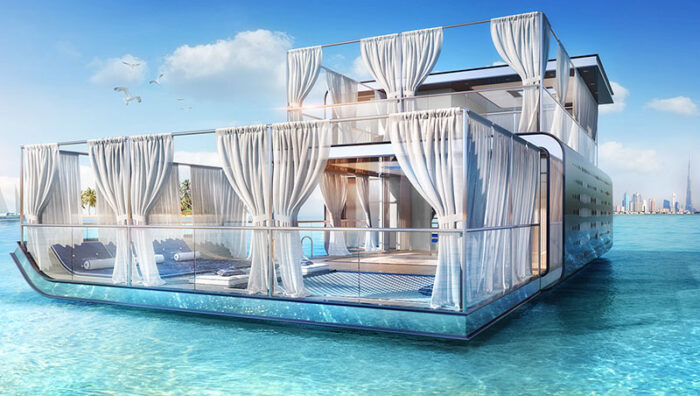 2-level houseboats