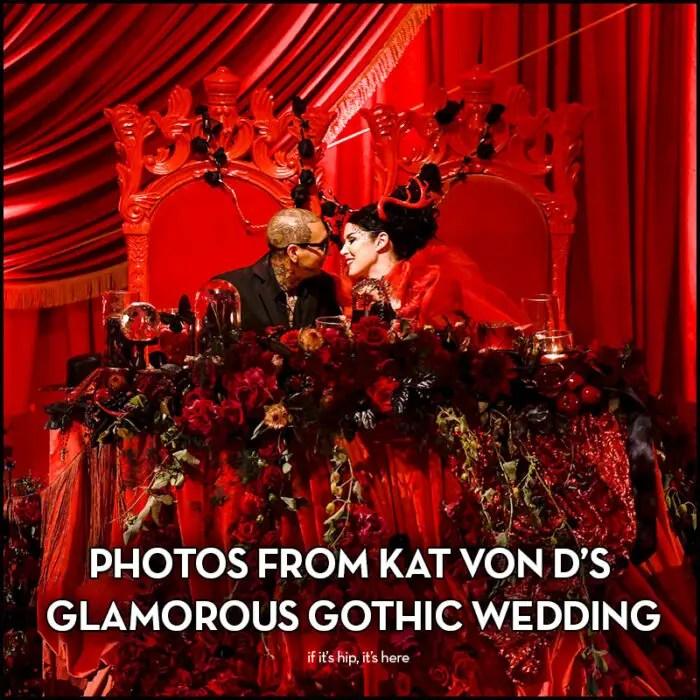 Kat Von D Wedding photos