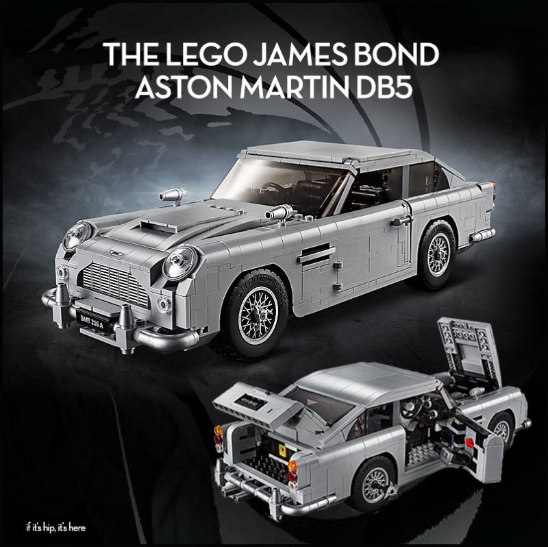 The Lego James Bond Aston Martin Db5 Has Arrived If It S