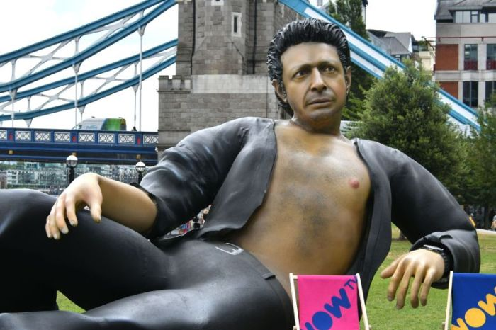 Giant Reclining Jeff Goldblum