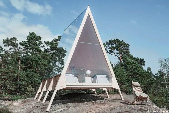 Neste Nolla cabin on if it's hip it's here