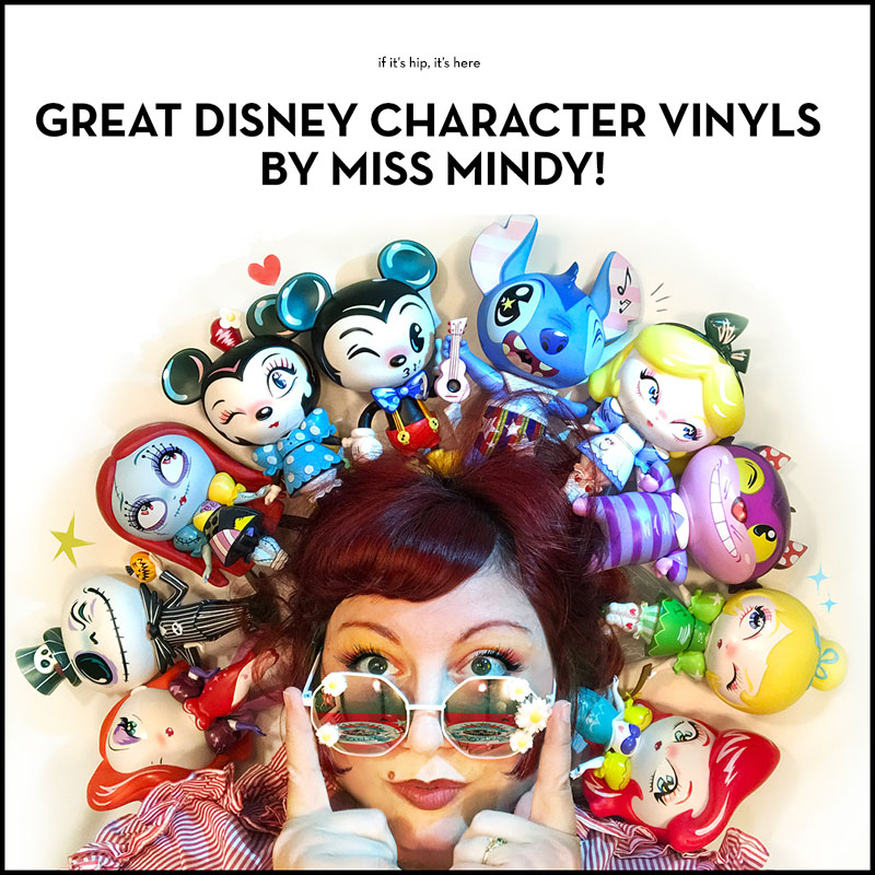 The new Disney Character Vinyl Toys by Cartoon Folk Artist Miss Mindy takes  ten of Disney s most beloved characters and turns them into beautifully  detailed ... 607e0744c961