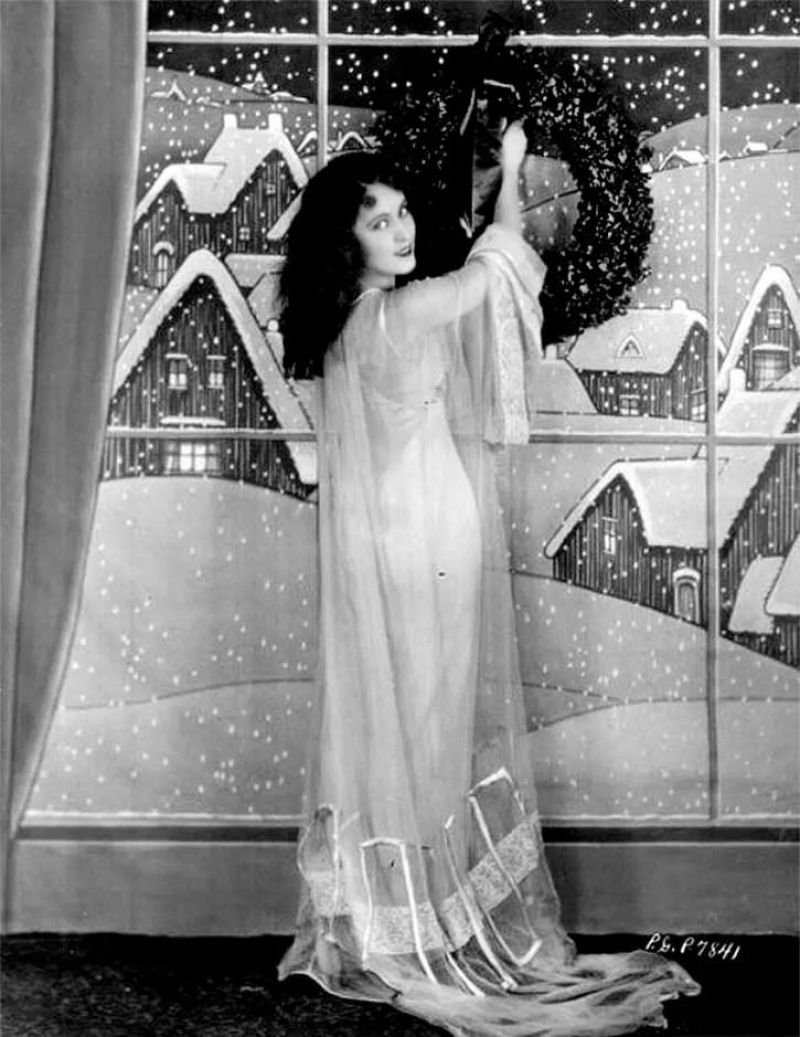 Vintage Hollywood Christmas Pics