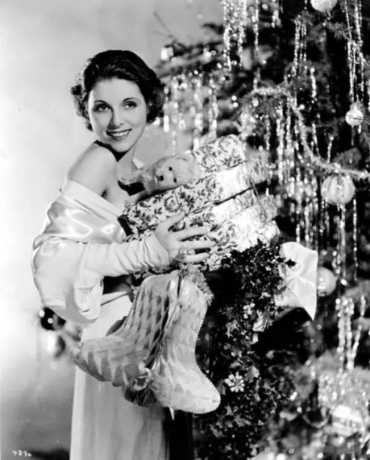 Irene Hervey christmas