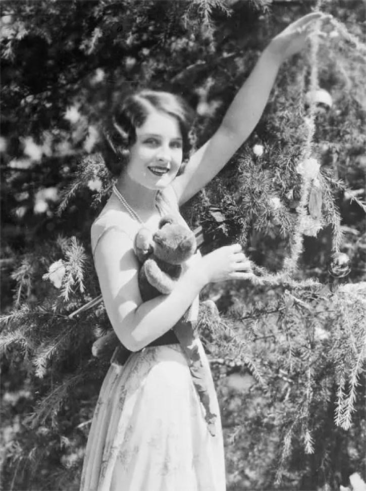Norma Shearer christmas