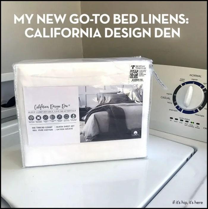 California Design Den Bed linens
