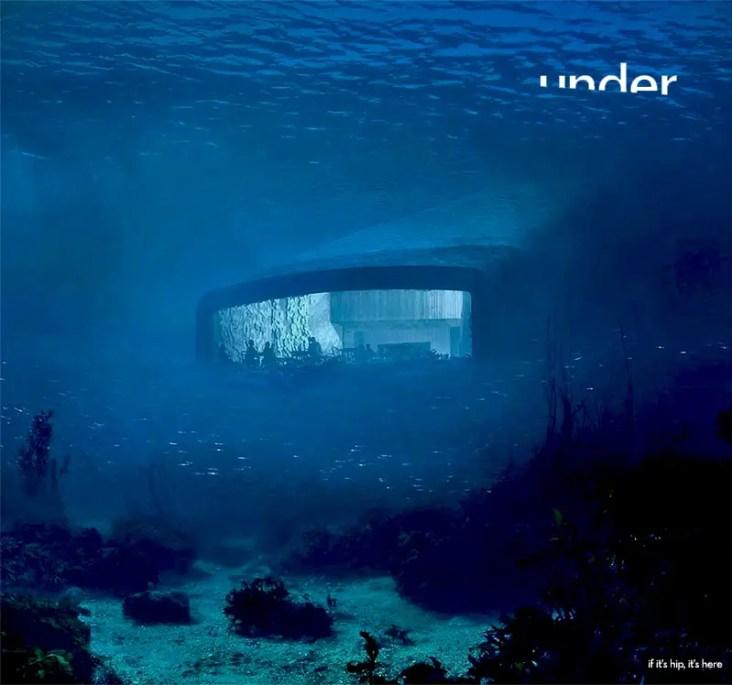 submerged restaurant in norway