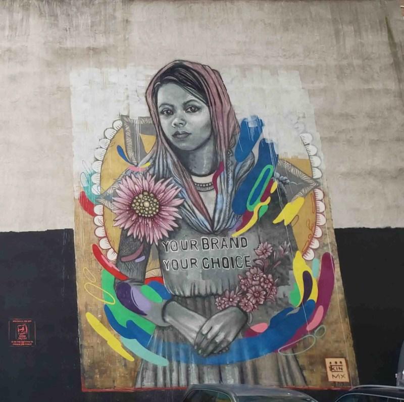 Bithi mural by Kinmx