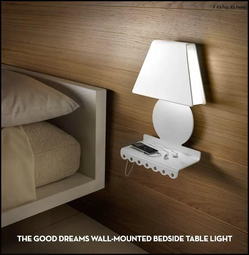 Good Dreams Wall-Mounted Bedside Table Light