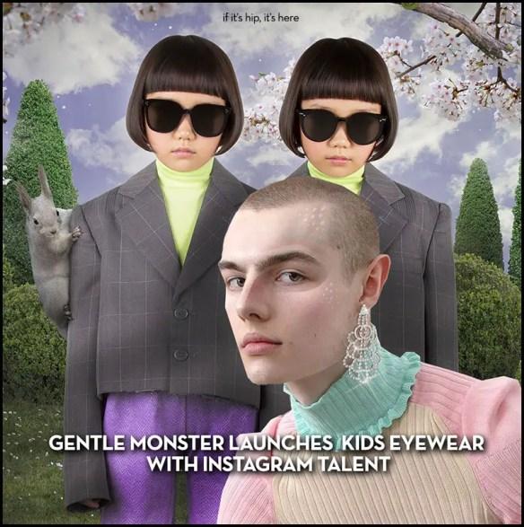 Gentle Monster Launches Kids Eyewear With Instagram Talent