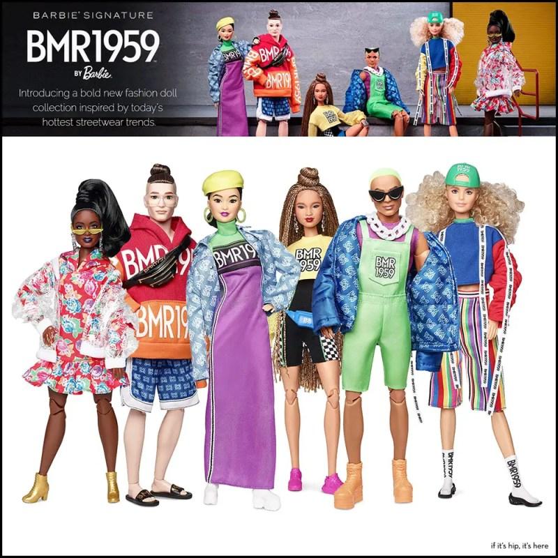 Barbie BMR1959 collection