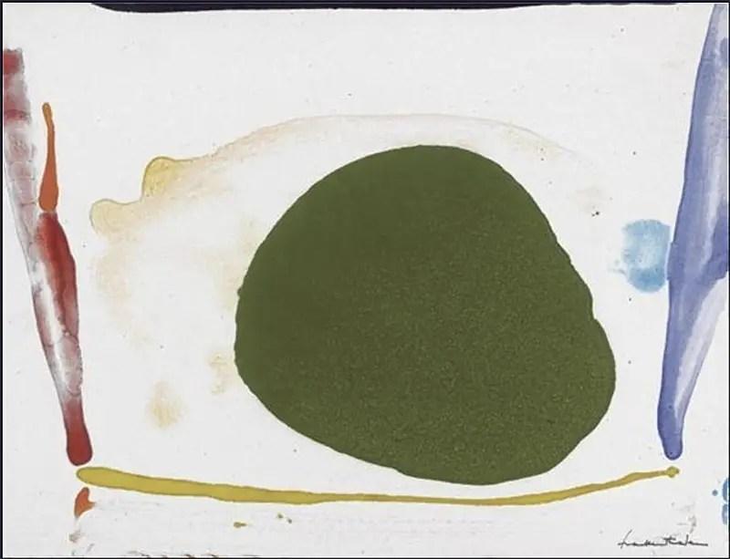 Helen Frankenthaler, Thanksgiving Day, 1973