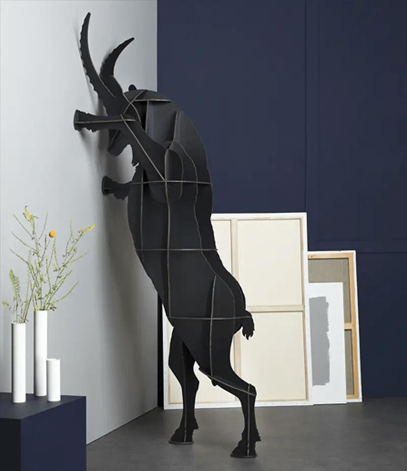 wooden animal shaped furniture
