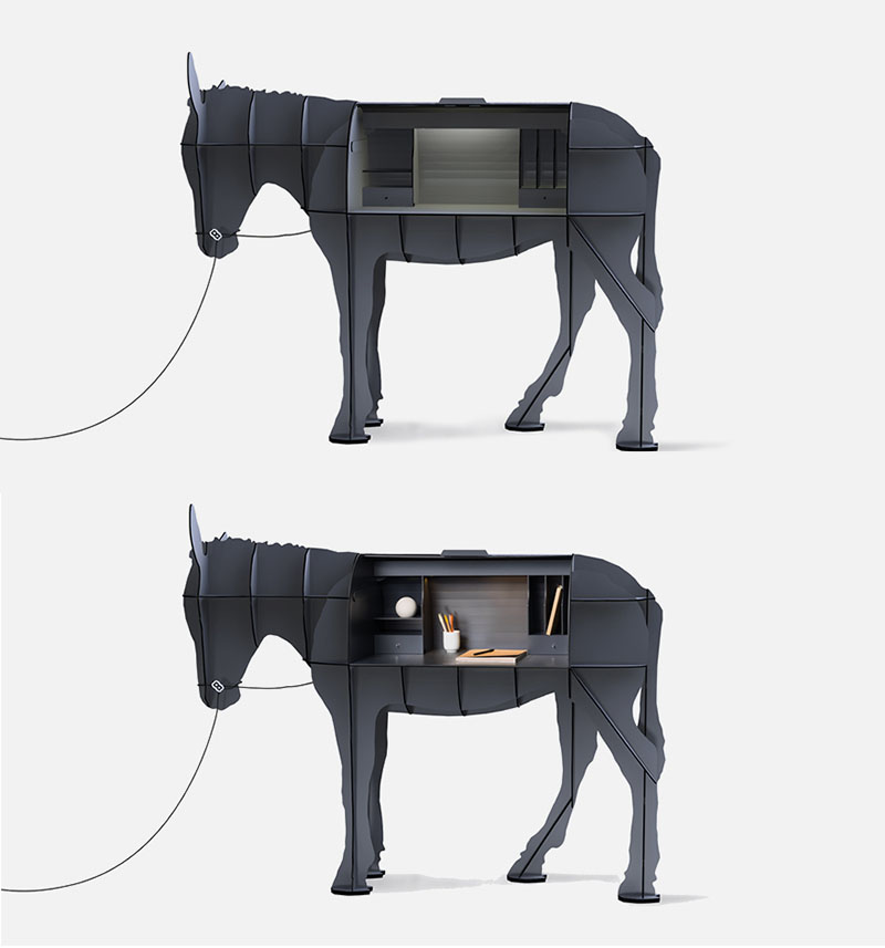Donkey desk
