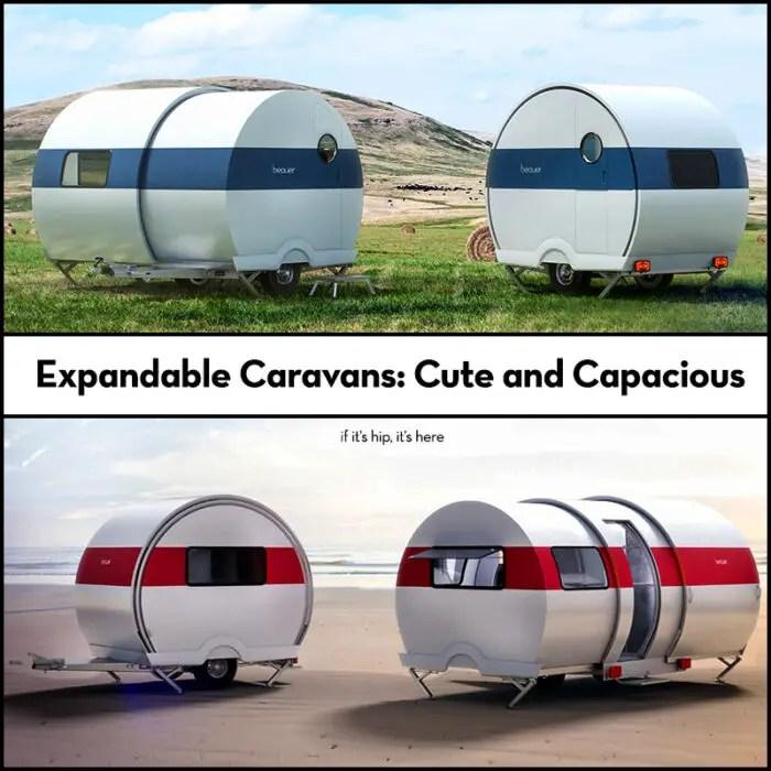 expandable caravans