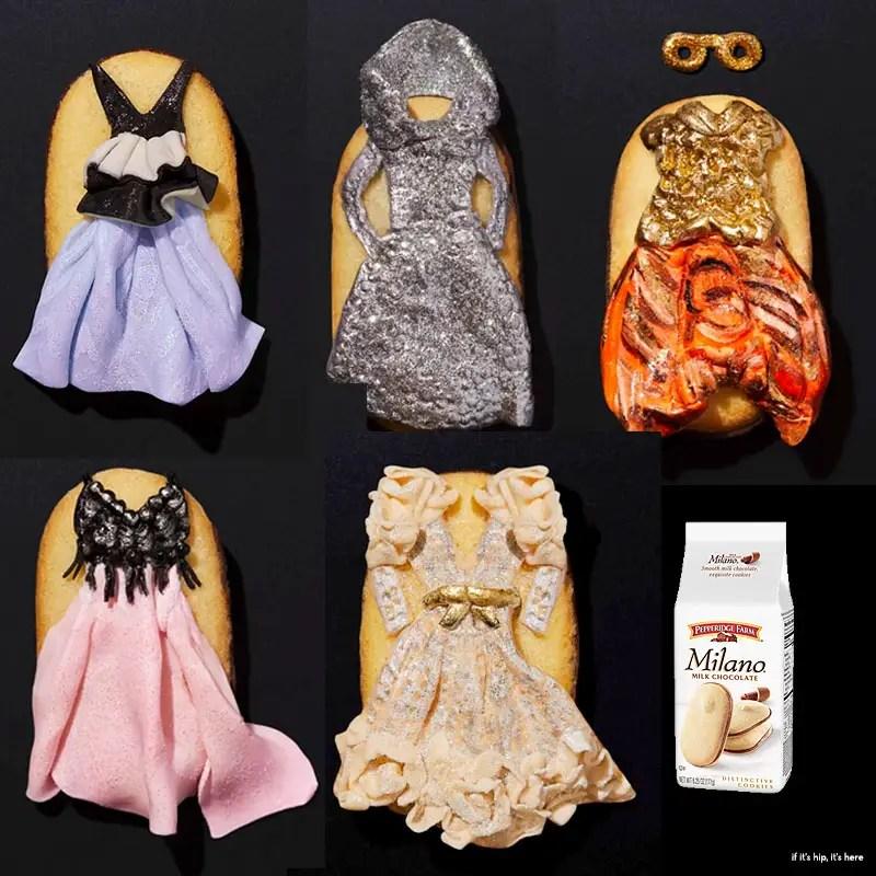 Oscar Gown Milano Cookies