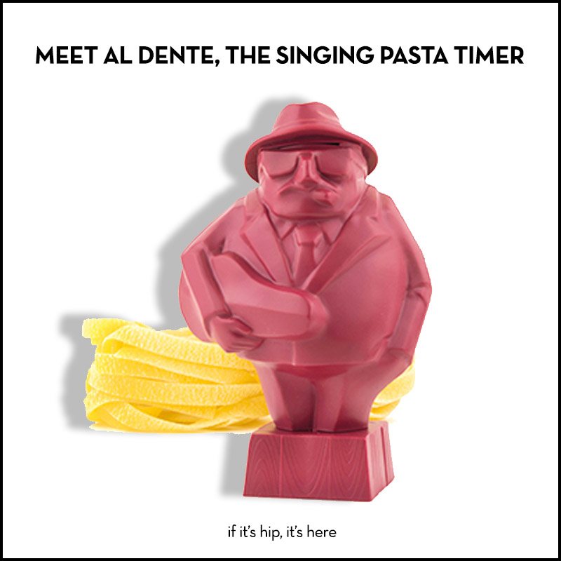 al dente singing pasta timer