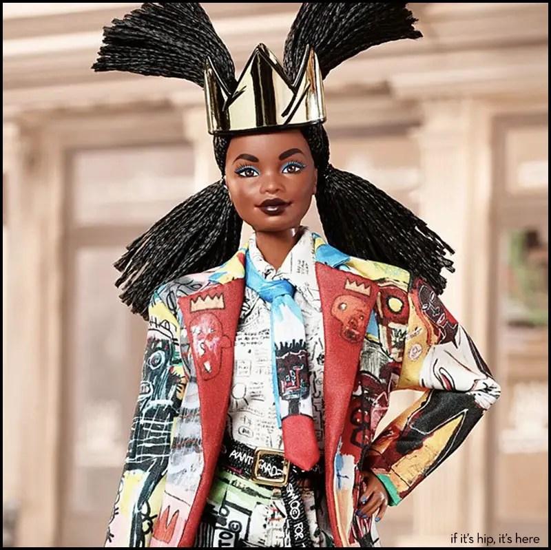 Jean Michel Basquiat X Barbie Fashion Crown Doll Accessory