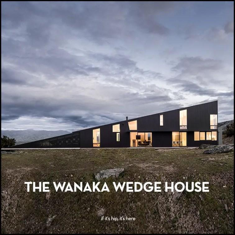 The Wanaka Wedge House