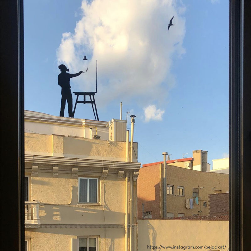 pejac window art