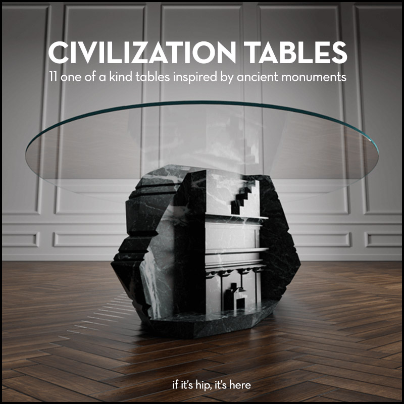 Civilization Tables by Duffy London