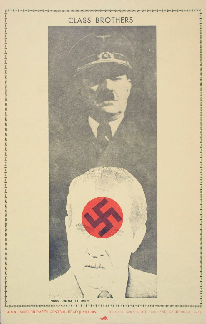 Class Brothers poster Hitler Nixon poster 1973