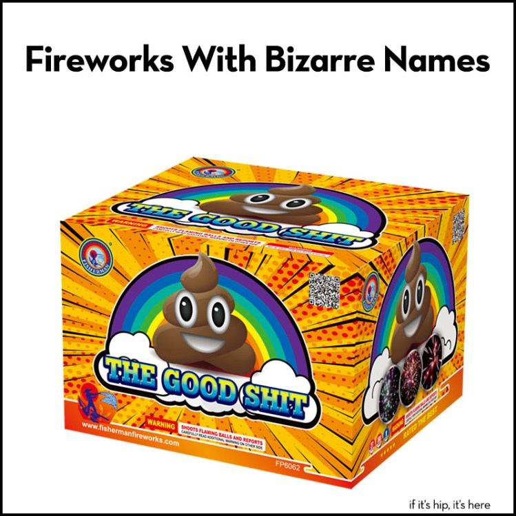 Fireworks with Bizarre Names
