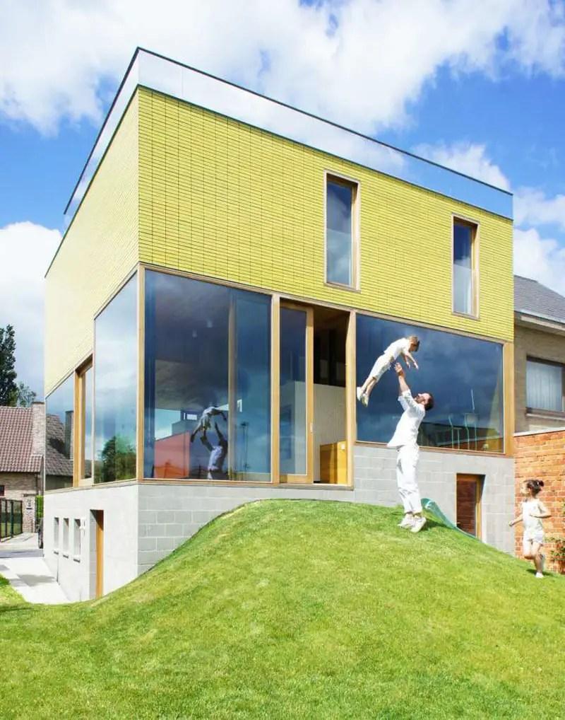 vens vanbelle family house belgium