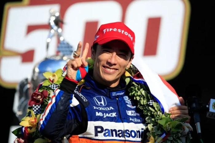 104th Indianapolis 500 winner Takuma Sato