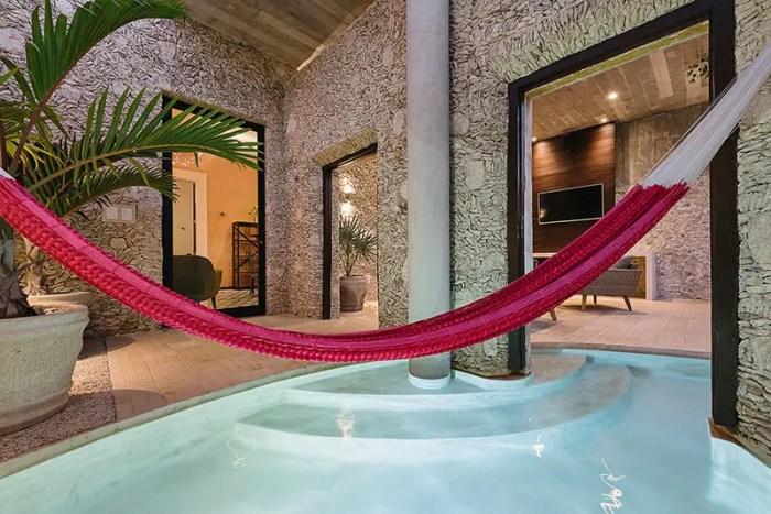 casa xoloti courtyard pool 8