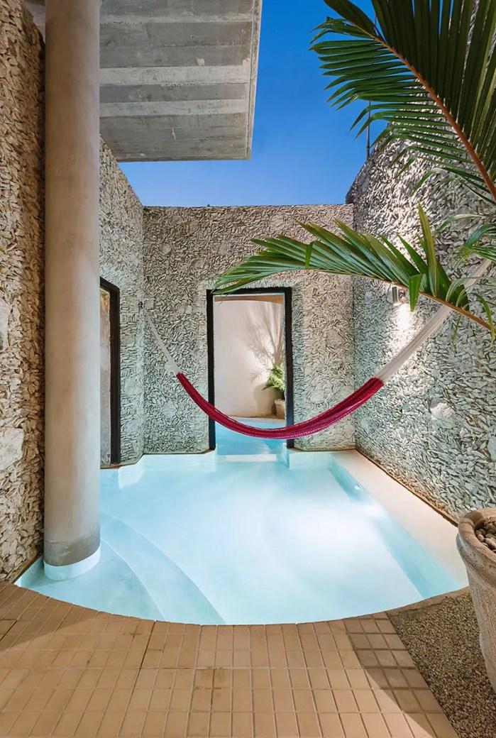 casa xoloti courtyard pool 9