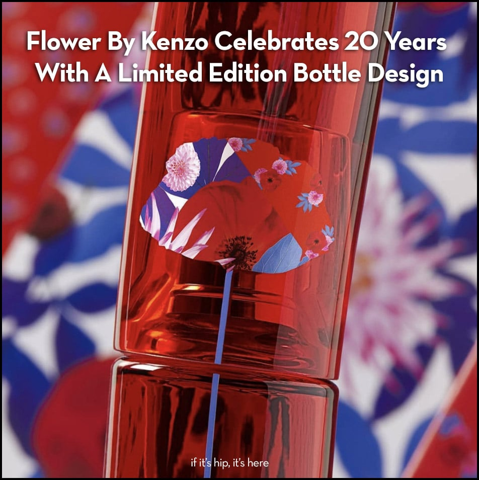 Flower By Kenzo Celebrates 20 Years With A Limited Edition Bottle Design