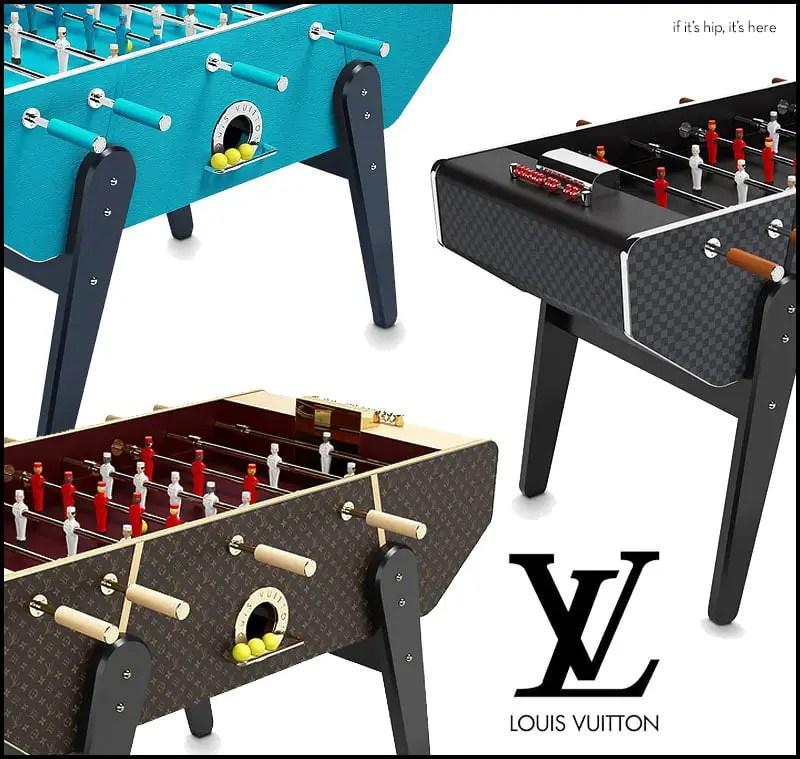 Louis Vuitton Foosball Tables
