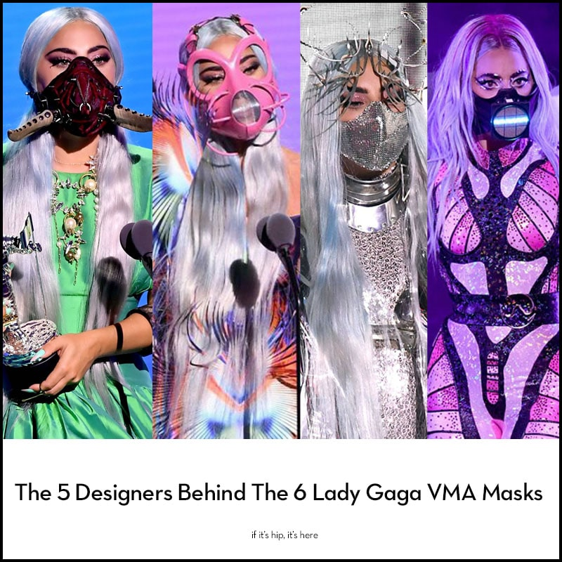 Lady Gaga Face Masks Vma If It S Hip It S Here