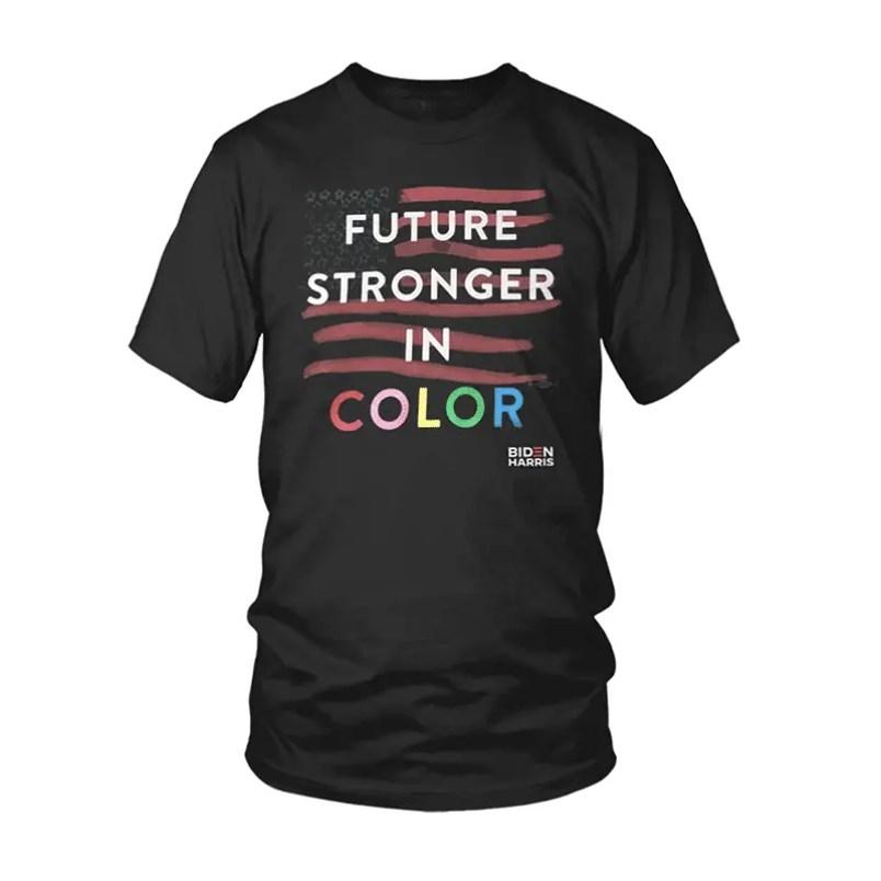 prabal gurung future in color biden harris shirt
